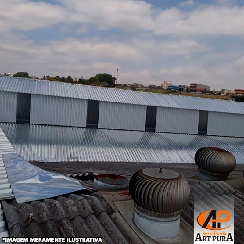 Cobertura para Galpão de Indústria Cotação Santana de Parnaíba - Galpão Cobertura Metálica
