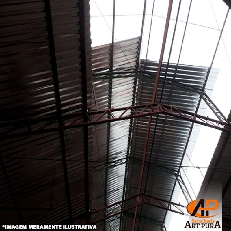 Coberturas de Galpão Industrial Cotia - Galpão Cobertura Metálica