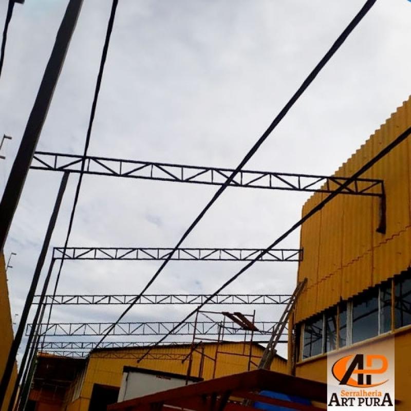 Onde Acho Estrutura Metálica de Garagem Jandira - Estrutura Metálica de Mezanino