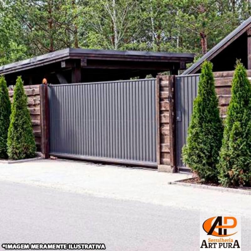 Portão em Ferro para Garagem Preço Jandira - Portão de Ferro para Garagem