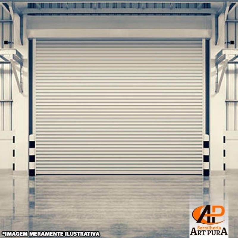 Portas de Enrolar com Motor Valores Barueri - Portas de Enrolar Industrial