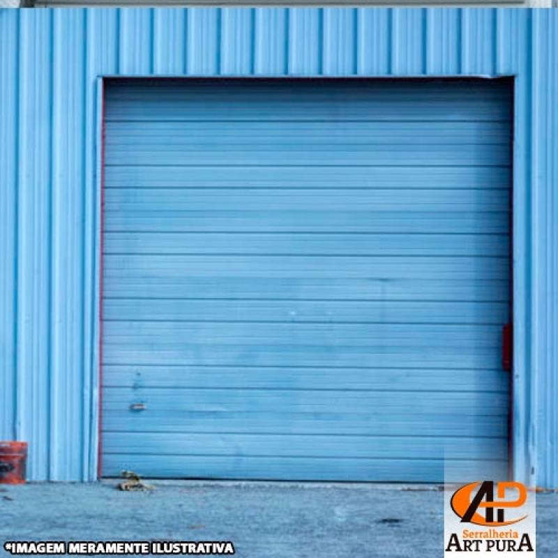 Portas de Enrolar Ferro Centro de São Paulo - Portas de Enrolar Industrial