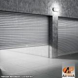 a procura de portas de enrolar para shopping Centro de São Paulo