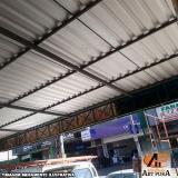 cobertura de galpão telhas Barueri
