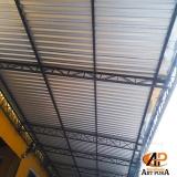 companhia de estrutura metálica de telhado Barueri