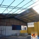 companhia de estrutura metálica telhado Carapicuíba