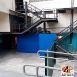 escada para áreas externas Jandira