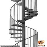 escadas caracol preço Centro de São Paulo