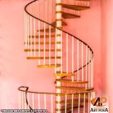 escadas caracol Santana de Parnaíba