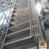 escadas ferro preço Cotia