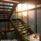 escadas metálicas preço Cotia