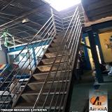 escadas metálicas Centro de São Paulo