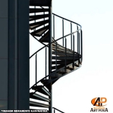 escadas para áreas externas Santana de Parnaíba