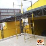 estrutura metálica garagem Barueri