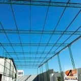 estrutura metálica para telhado orçar Santana de Parnaíba