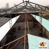 estrutura metálica telhado Cotia