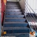 fabricante escadas ferro Santana de Parnaíba