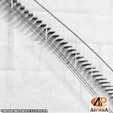fabricante escadas para áreas externas Carapicuíba