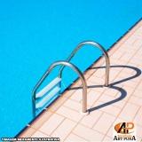 fabricante escadas para piscinas Santana de Parnaíba