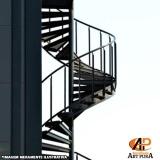fabricante escadas semi caracol Santana de Parnaíba