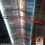 onde encontrar cobertura de galpão industrial metálico Cotia