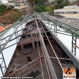 onde encontrar cobertura de galpão industrial Carapicuíba