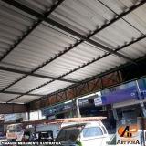 onde encontrar cobertura de galpão telhas Jandira
