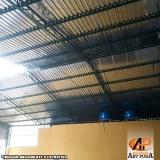 onde encontro cobertura de galpão telhas Carapicuíba