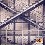 orçamento para escadas de ferro Cotia