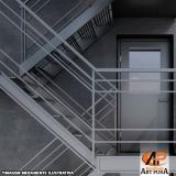 orçamento para escadas metálicas Santana de Parnaíba