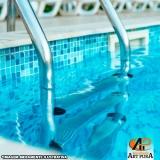 orçamento para escadas para piscinas Barueri