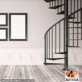orçamento para escadas semi caracol Cotia