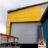 porta de enrolar industrial Cotia
