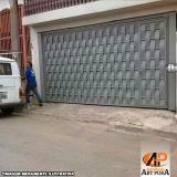 portão de ferro para garagem preço Carapicuíba