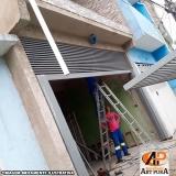 portão de ferro para garagem Santana de Parnaíba