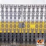 portão em ferro fundido preço Carapicuíba