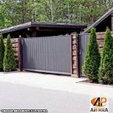 portão em ferro para garagem preço Carapicuíba